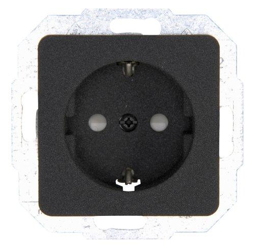 Kopp 915015087 Milano Schutzkontakt-Steckdose mit erhöhtem Berührungsschutz