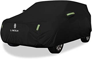 KTYXDE Car Cover SUV Thick Oxford Cloth Sun Rain Warm Car Cover for Lincoln MKX Models Car Cover (Size : Oxford Cloth - Built-in lint)