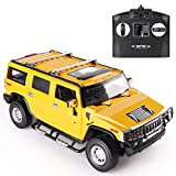 Hummer H2 DTI Direct Licensed RC car with 2.4GHz (Yellow)