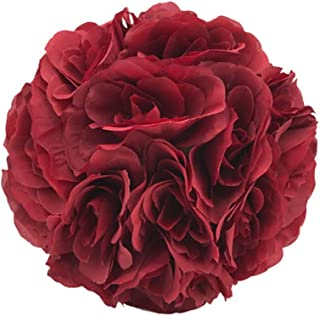 Craft And Party Flower Rose Pomander Kissing Ball for Wedding Party Decoration (7