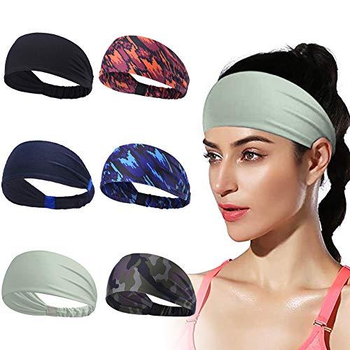 Kitbeez Sport Stirnband für Herren und Damen,Schweißband für Laufen, Cross Training, Yoga und Fahrradhelm Leichtgewicht Unisex Design
