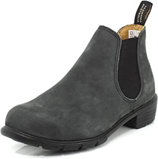 Blundstone 1971 Womens Low Heel Elastic Short Boot Rustic Black