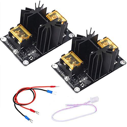 Mosfet Stampante 3D, Doris Direct Add-On Modulo di Potenza di MOSFET to 30A Modulo di carico ad alta corrente con cavi - 2 Pack