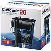 Cascade 20 Power Filter - Hang-On Aquarium Filter with Quad Filtration