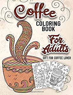 Best coffee adult coloring pages Reviews