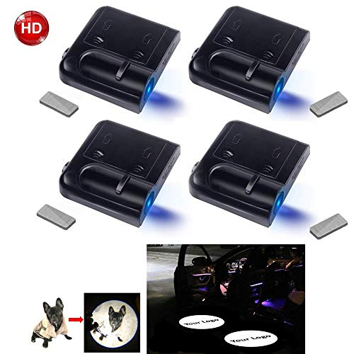 Custom Your Own Logo Image Customized Car Door Projector HD Courtesy LED Lights