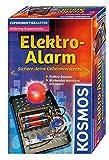 KOSMOS 659172 - Elektro-Alarm, Sichere deine Geheimverstecke, Elektro-Bausatz, Rotierendes Warnlicht mit Sirene, Experimentierset für Kinder ab 8 Jahre