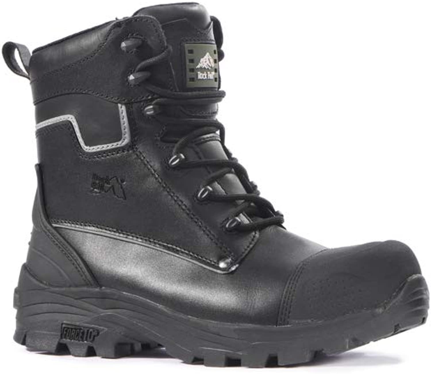 Rock Fall RF15 Shale 14 Safety Boot, Black
