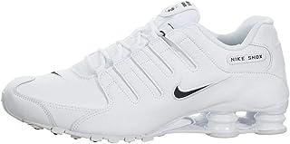 Men's Shox NZ Running Shoe White / Black - White - 9 D(M) US