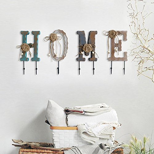LIANGJUN wandmontage jassenrek sjaal hoed haken ingang woonkamer, 2 soorten beschikbaar, hoogte 26 cm 2#