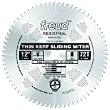 Freud 12' x 72T Thin Kerf Sliding Compound Miter Saw Blade (LU91M012)