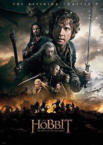 GB Eye Ltd, The Hobbit, Battle of Five Armies Fire, Poster Gigante (100 x 140 cm)