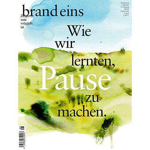 brand eins audio: Pause cover art