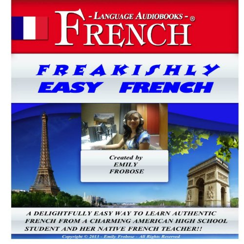 Freakishly Easy French audiobook cover art