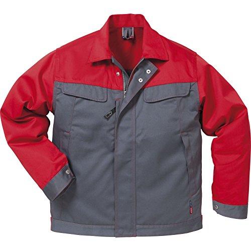 Fristad Kansas - Jacket 4857 Luxe Large Grey/Red 109321-866 L