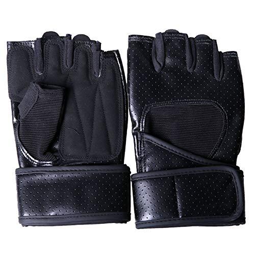 Sterrenhemel Handschoenen, outdoor mannen en vrouwen halve vinger halter horizontale bar sterkte apparatuur training anti-slip pols sportuitrusting