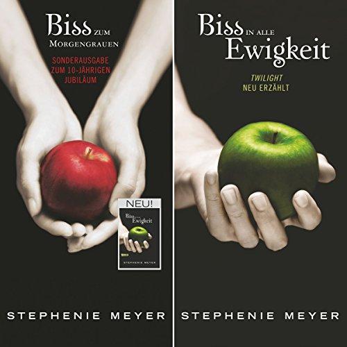 Bis(s) zum Morgengrauen / Bis(s) in alle Ewigkeit (Twilight Saga - Jubiläumsausgabe) audiobook cover art