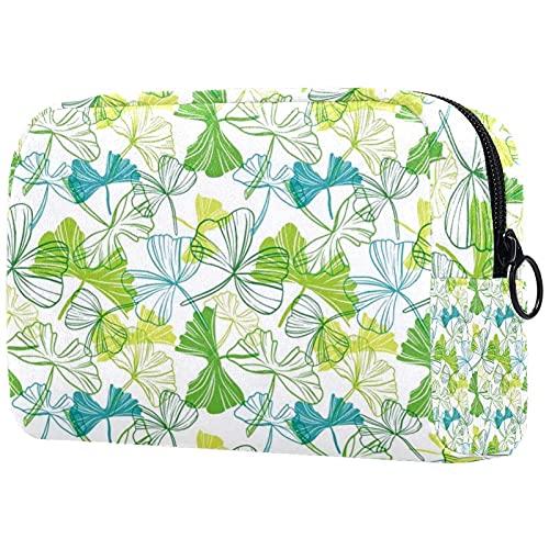 Bolsa de cosméticos para mujer, adorable, espaciosa, bolsa de maquillaje, bolsa de aseo impermeable, organizador de accesorios de Navidad
