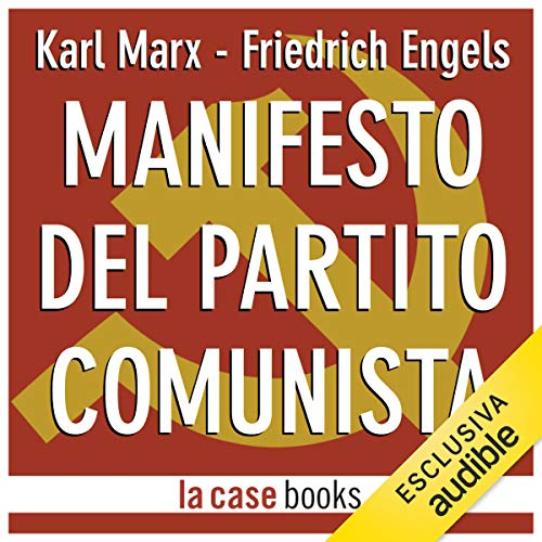 Manifesto del Partito Comunista audiobook cover art