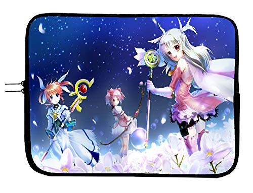 Fate/kaleid Liner Prisma Illya Anime Laptop Sleeve Bag 13 Inch Laptop Bag with Mousepad Surface - Protect Your Notebook Mac Book Pro MacBook Air iPad or Windows Devices in Style!