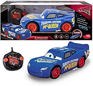 Dickie Cars 3 Remote Control Hero McQueen Final Race Car-4006333031403