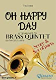 Oh Happy Day - Brass Quintet score & parts: Gospel (Italian Edition)