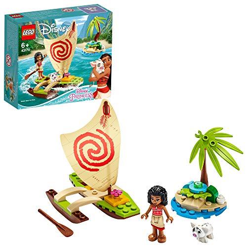 LEGO Disney Princess - L'aventure en mer de Vaiana, Jouet Fille et...
