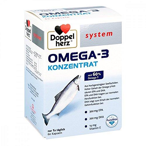 Doppelherz system OMEGA-3 KONZENTRAT, 60 St. Kapseln