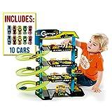 Parking Infantil Molto 4 Plantas + 10 Coches