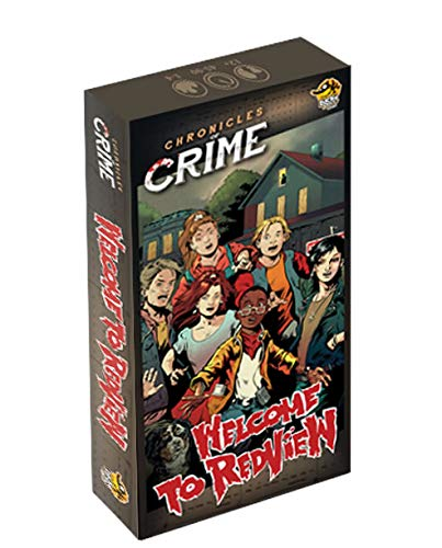 Cronicas del Crimen: Bienvenido a Redview - Expansión Juego de Mesa [Castellano]
