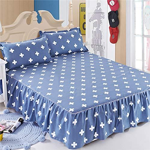 huyiming Verwendet für Sommerbett Rock Einzelstück Sommer Simmons Staubschutzhülle 1,5/1,8 m Bettdecke Bett Rock, 11,2 mx 2,0 m