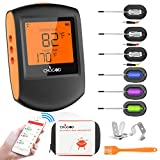 Wireless Meat Thermometer, Bluetooth Meat Thermometer For Grilling Digital BBQ Cooking Thermome…