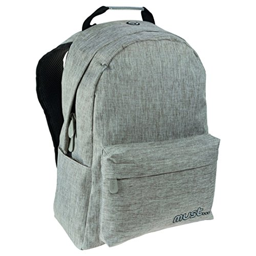 Diakakis 000579407 Backpack Must Light Grey 2Cases Jean 42X32X17, 42 x 32 x 17