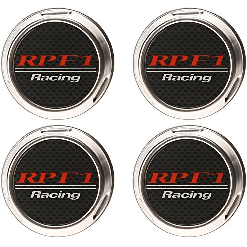 Enkei RPF1 16-18in. Silver Center Cap - Set of 4