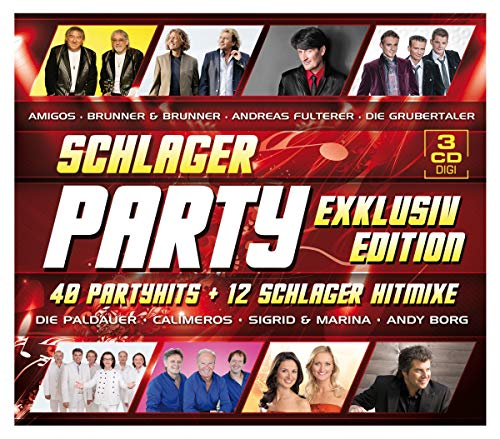 Schlager Party - Exklusivedition (40 Partyhits & 12 Schlager Hitmixe)