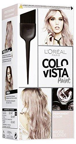 L'Oréal Paris Colovista Permanent Paint #ROSEBLONDE, dauerhafte Haarfarbe, mit hochkonzentrierten Farbpigmenten und neu definierten Reflexen, #DOITYOURWAY