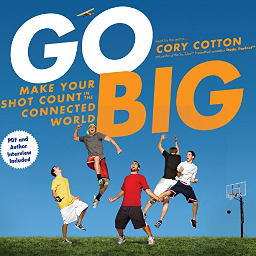 Go Big audiobook cover art