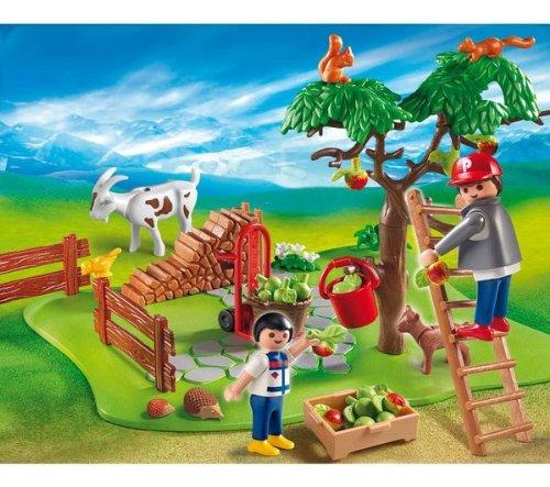 PLAYMOBIL 4146–CompactSet sammeln der Äpfel die Häuser 4146