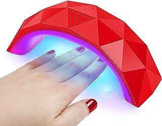 Secador de Lámpara de Uñas en Gel 9W Máquina LED/UV para Secar Esmaltes Semipermanentes Manicura y Pedicura
