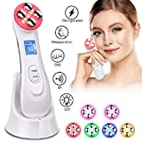 Skin Tightening Machine 5 in 1 Face Lift Machine Facial Massager for Wrinkle Remover,Acne,Anti-aging Home Use Beauty Device