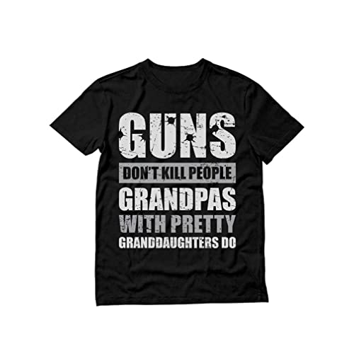 Guns Don/'t Kill People Dads With Pretty Daughters Do Girl Men/'s V-Neck Sport Tee