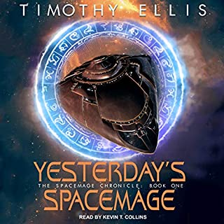 Yesterday's Spacemage audiobook cover art