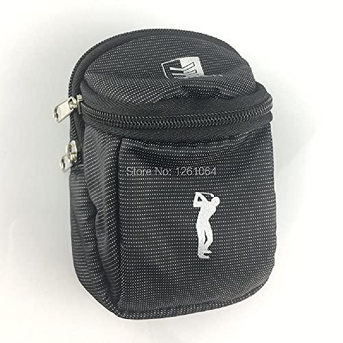 Mini Bolsa de Cintura con Soporte de Golf de 1 Pieza con Gancho de Nailon Que Puede Contener 6 Pelotas de Golf Paquete de Regalo de Golfista de Deportes al Aire Libre Bolsa de Golf pequeña eco