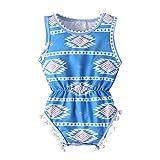 Strampler Mädchen, 0-24 Monate Neugeborenes Baby Mädchen Jungen Afrikanischen Stil Drucken Strampler Bodysuit Outfits-Pwtchenty