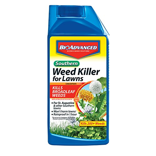 BioAdvanced 502890 Southern Weed Lawns with Dandelion Killer, 32-Ounce, Concentrate