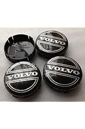 Rueda de aleación 4x 64 mm Plata Volvo centrecaps C30 C70 S40 V50 S60 V60 V70 S80 XC90