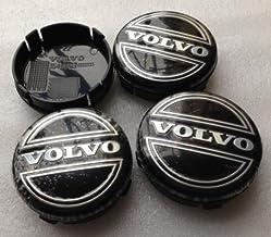 JXHDKJ 4pcs W001 64mm Emblem Badge Wheel Hub Caps Centre Cover #3546923 FOR VOLVO V40 V60 S60 S80 XC60 XC90 Car Styling Accessories