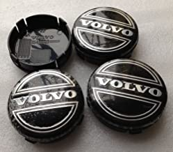 JXHDKJ 4pcs W001 64mm Emblem Badge Wheel Hub Caps Centre Cover #3546923 FOR VOLVO V40 V60 S60 S80 XC60 XC90 Car Styling Accessories