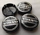 SDSB 4pcs W001 64mm Emblema ~ Tapacubos de ruedas tapas Centro cubierta # 3546923 para Volvo V40 V60 S60 S80 XC60 XC90 Accesorios de estilo de coche