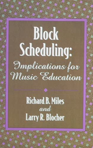 Block Scheduling Implications for Music Education G5356 product image